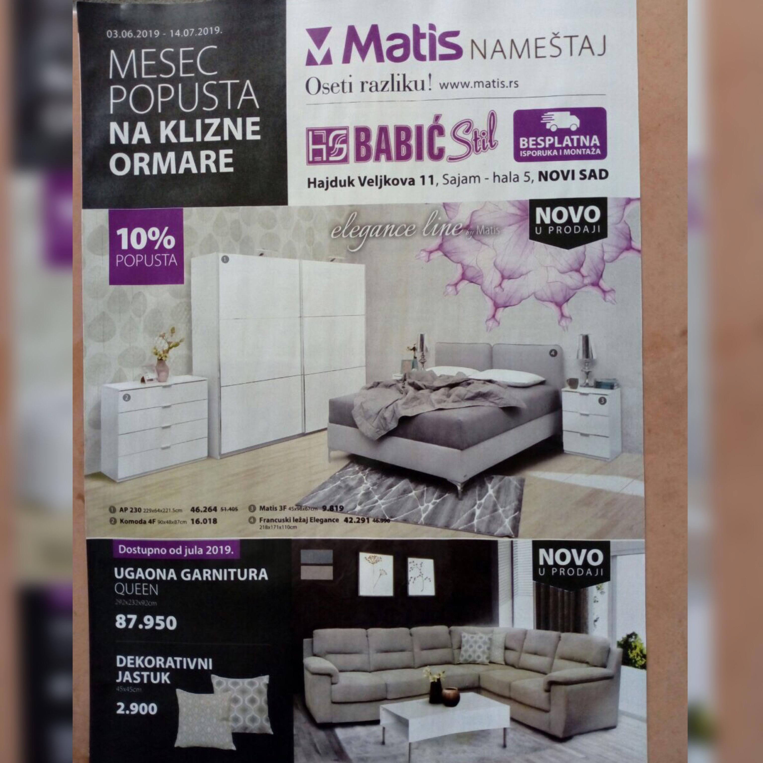U toku je podela kataloga firme Matis