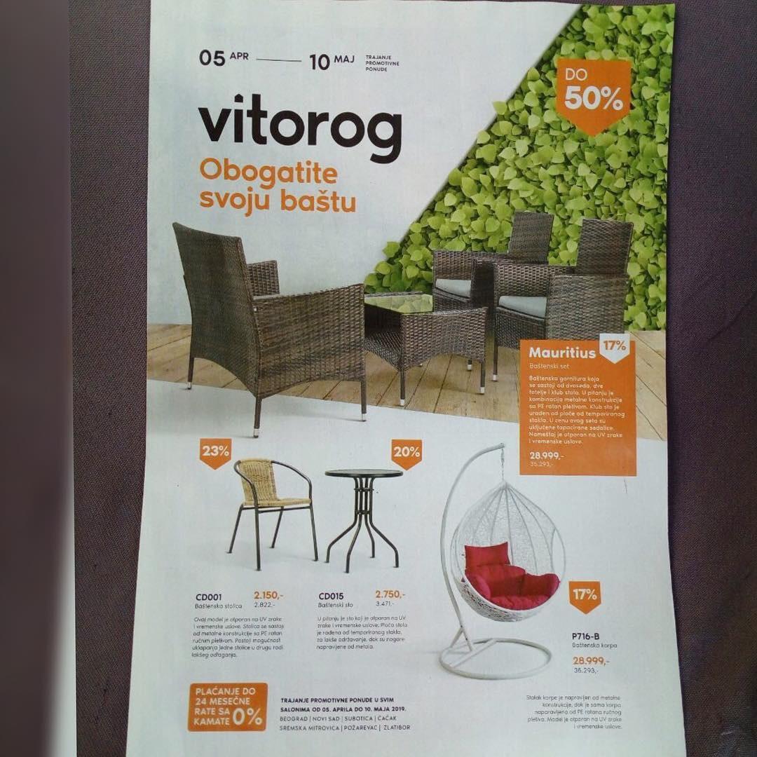 Akcijski katalog firme Vitorog promet