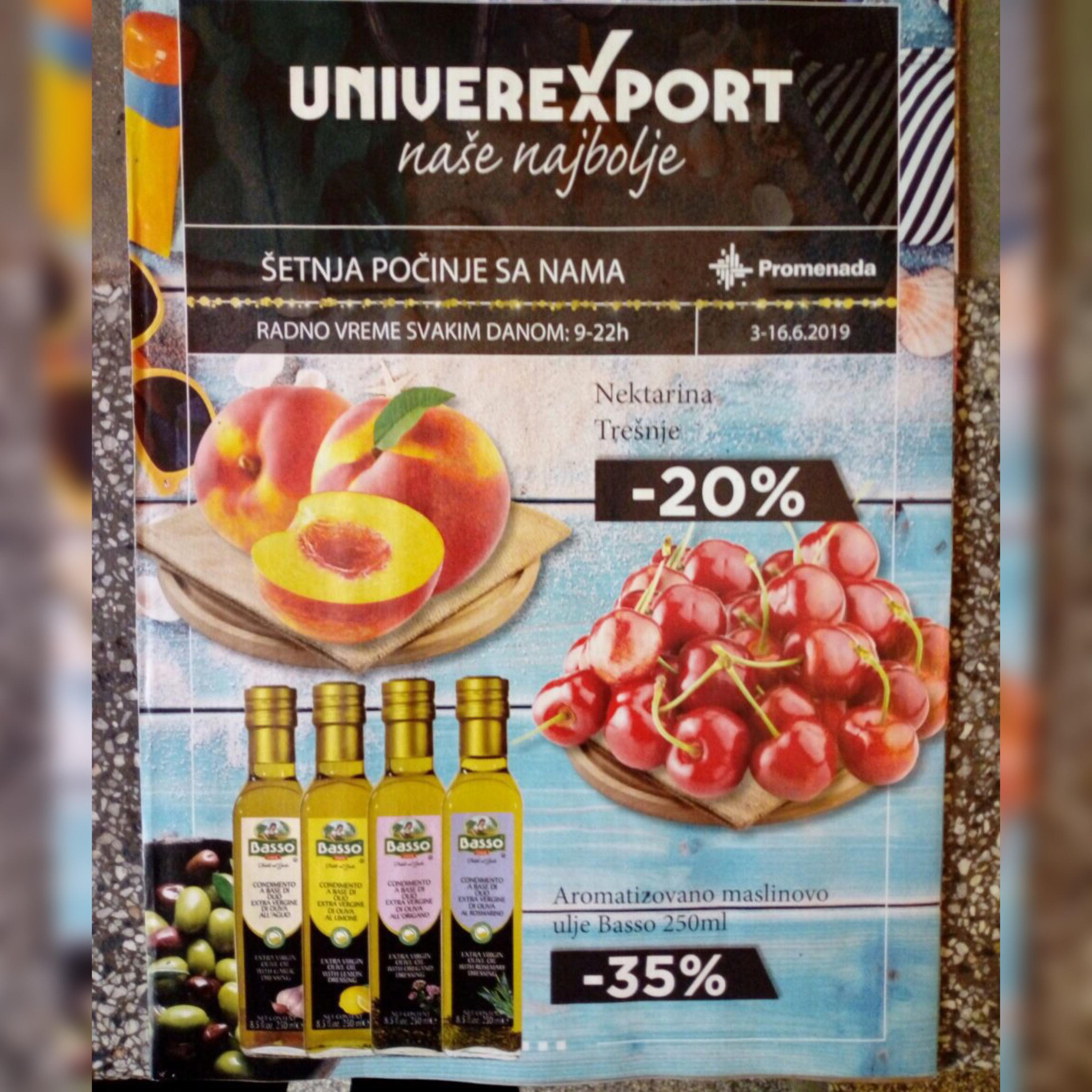 U toku je podela akcijskog kataloga firme Univerexport