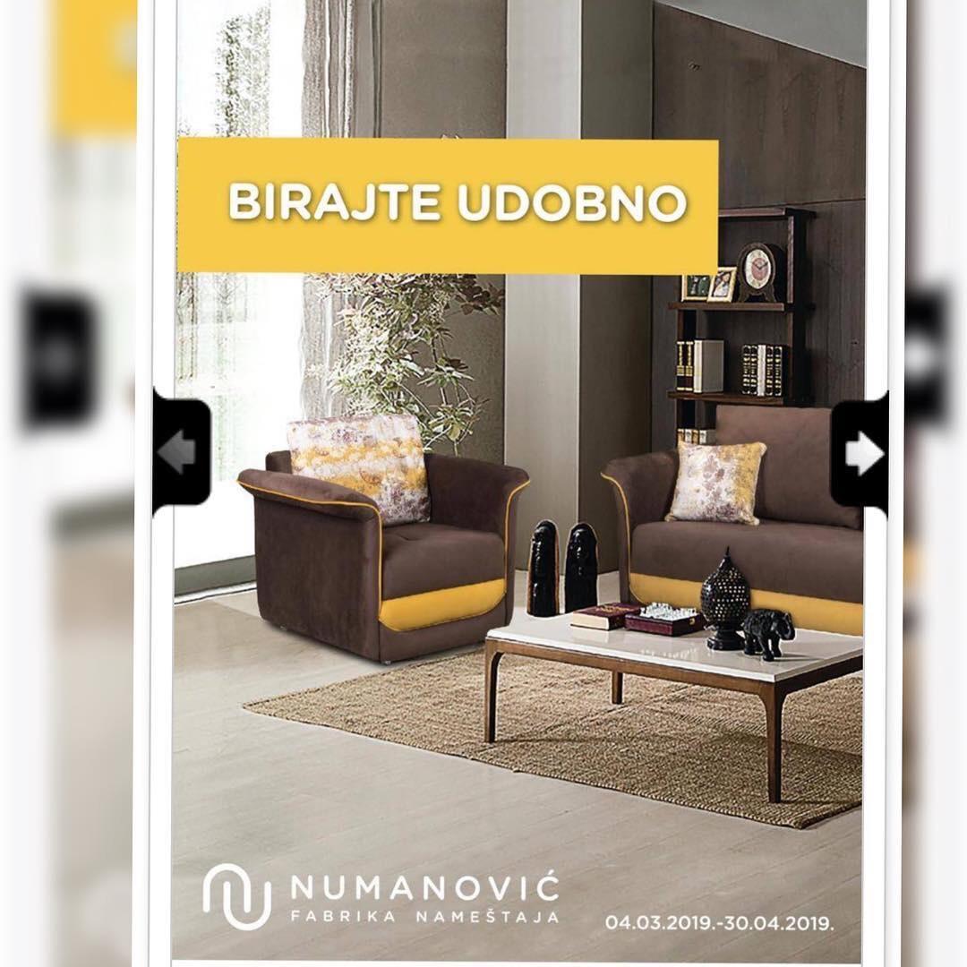 Akcijski katalog 4.4-30.4 firme Numanović nameštaj
