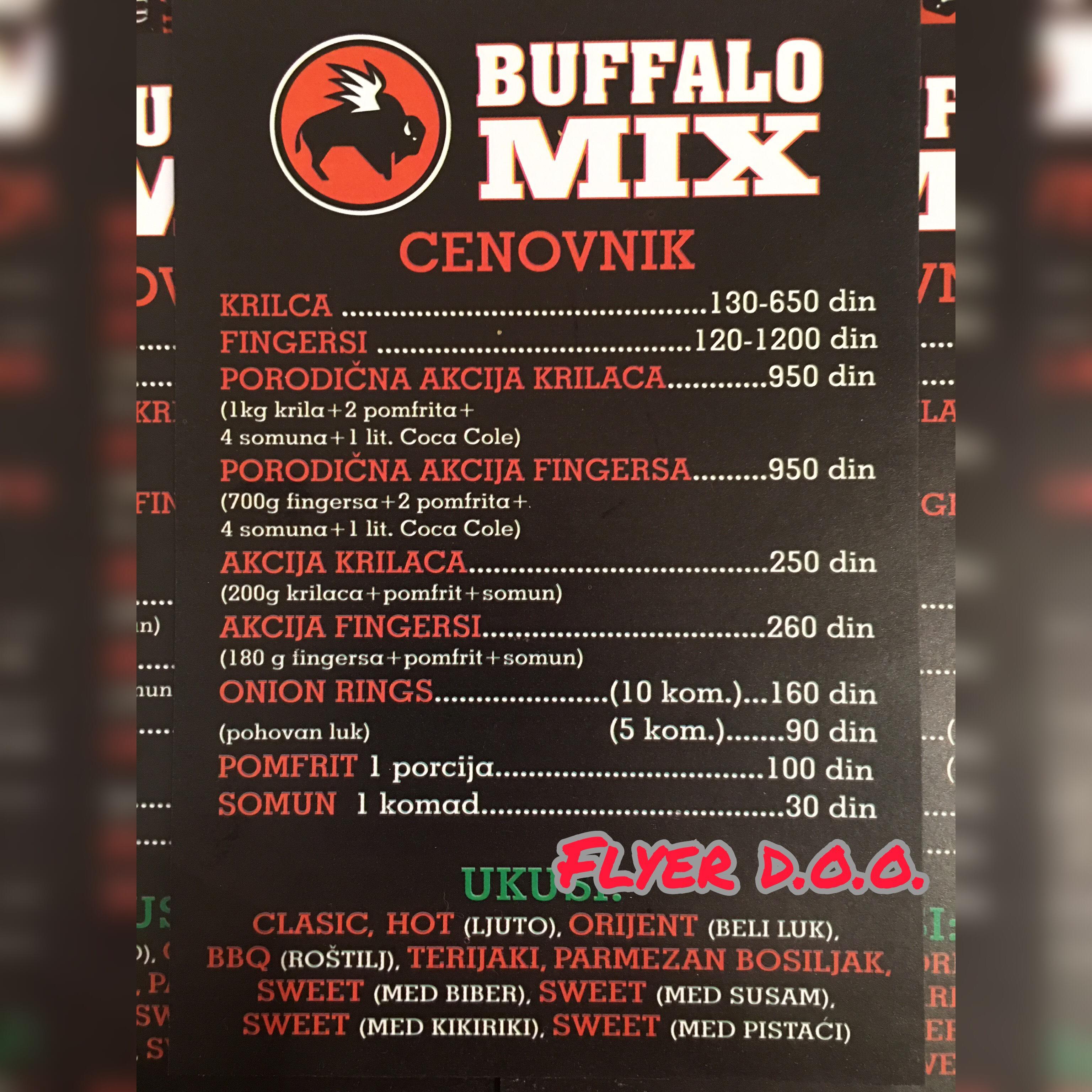 Novootvorena pečenjara Buffalo Mix