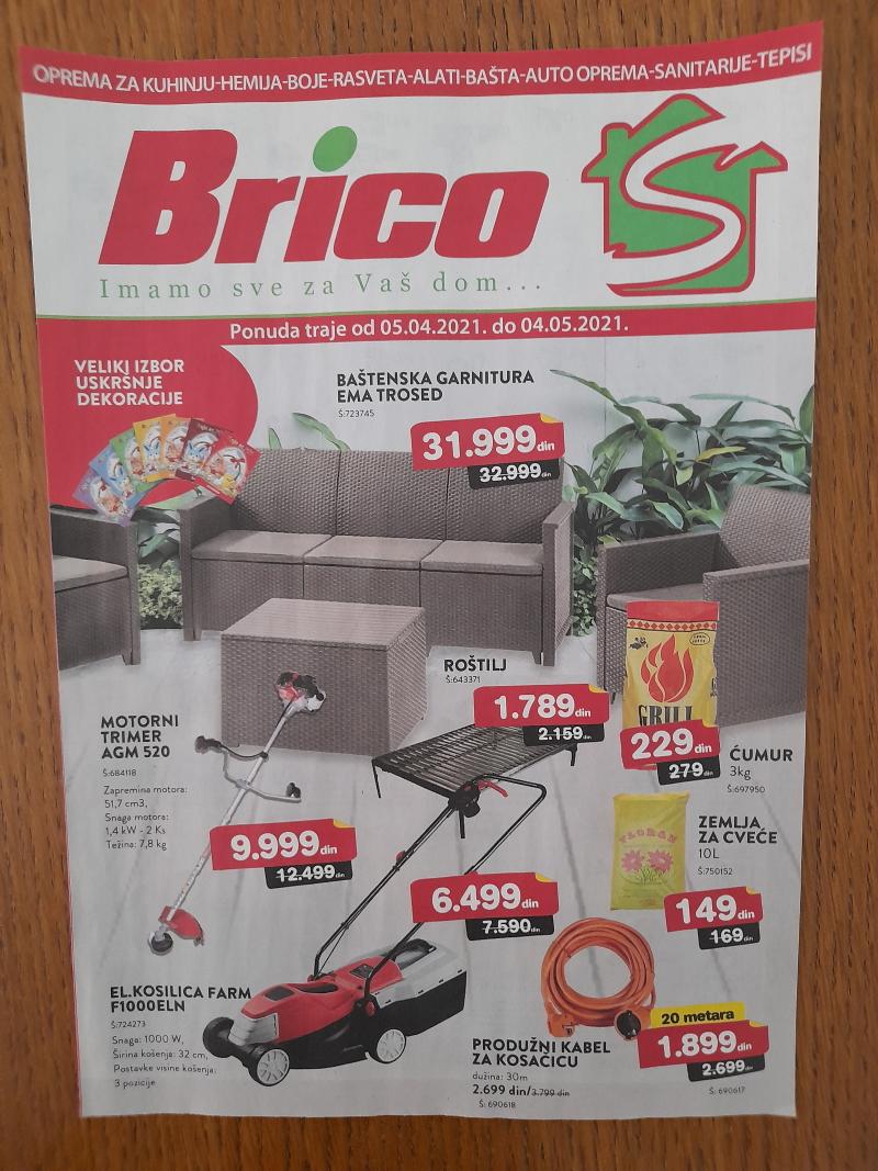 BricoS akcijski katalog