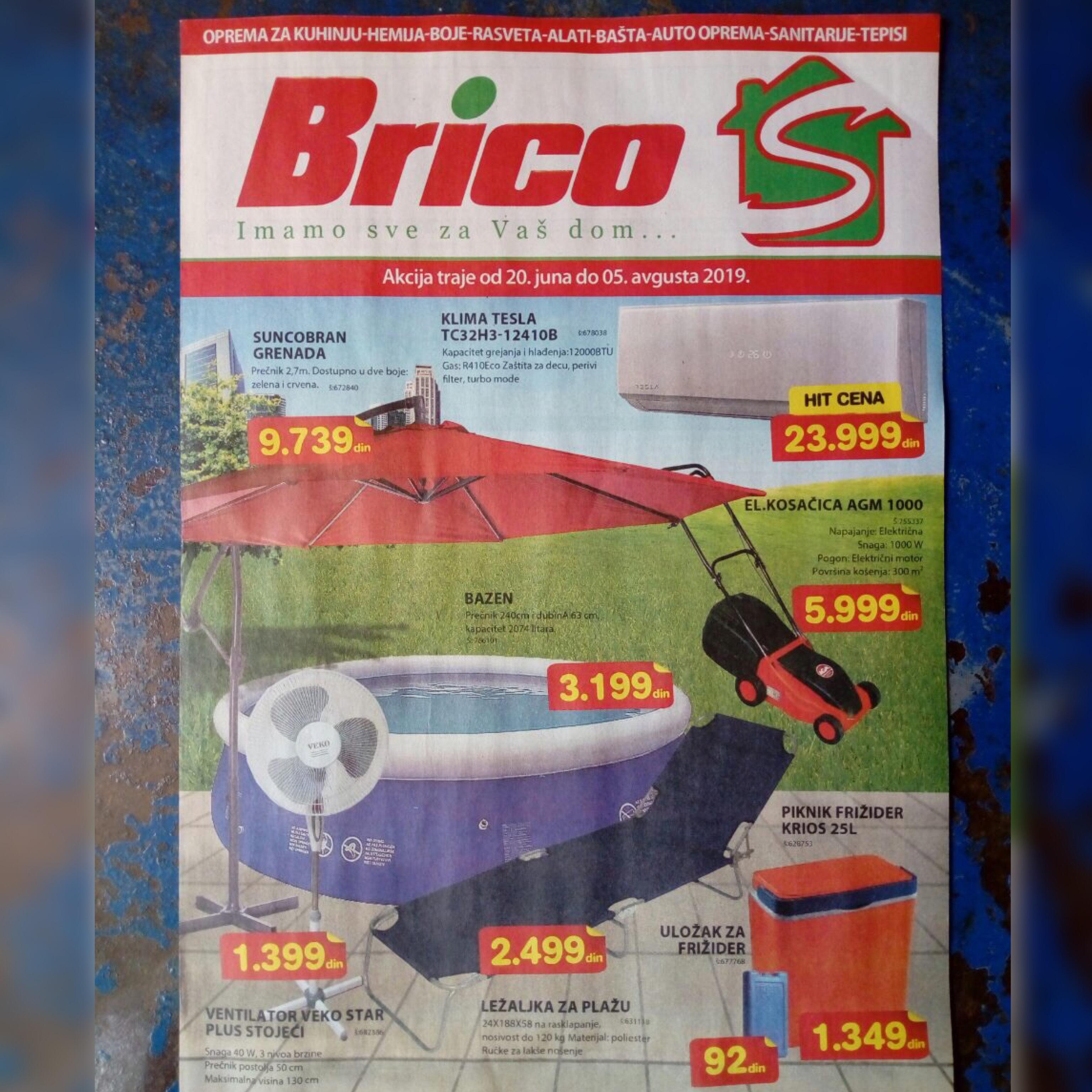 U toku je podela akcijskog kataloga firme Brico S