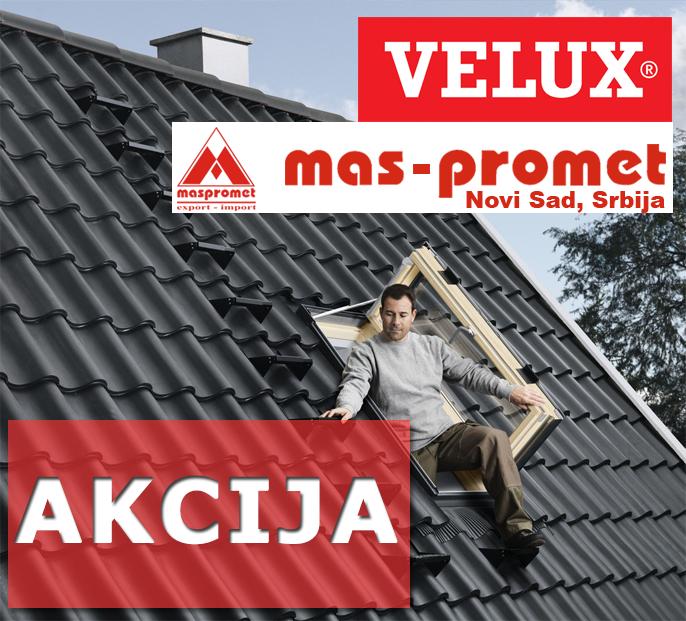AKCIJA!!! Set Velux prozora i izlaz na krov!