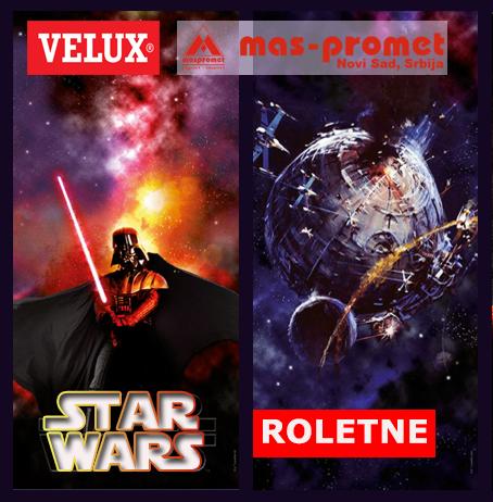 Star Wars roletne