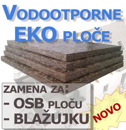 Vodootporne Eko Ploče