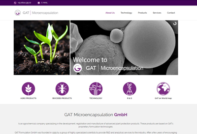 GAT Microencapsulation