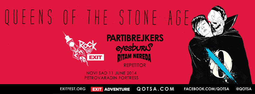 Queens of the Stone Age Rock Exit Festival, hostel Novi Sad