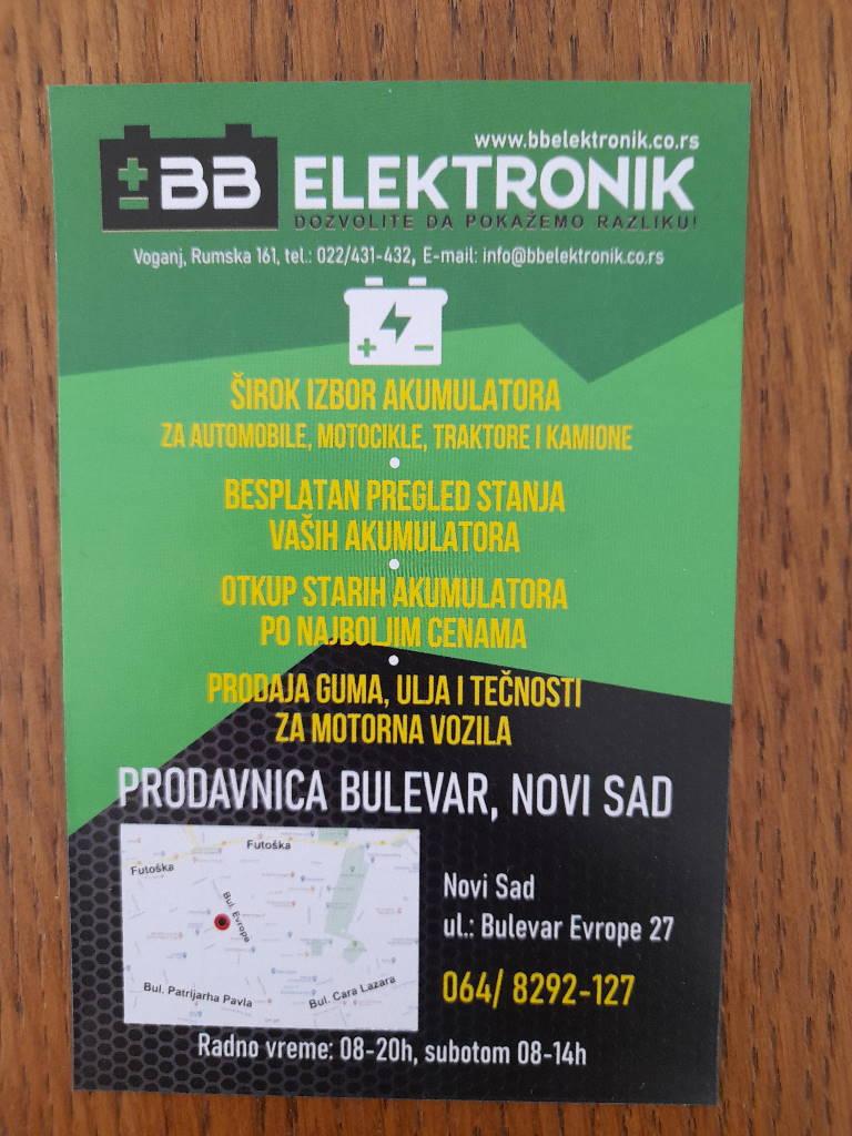 Podela i štampa flajera za BB elektronik u Novom Sadu i Beogradu!!!