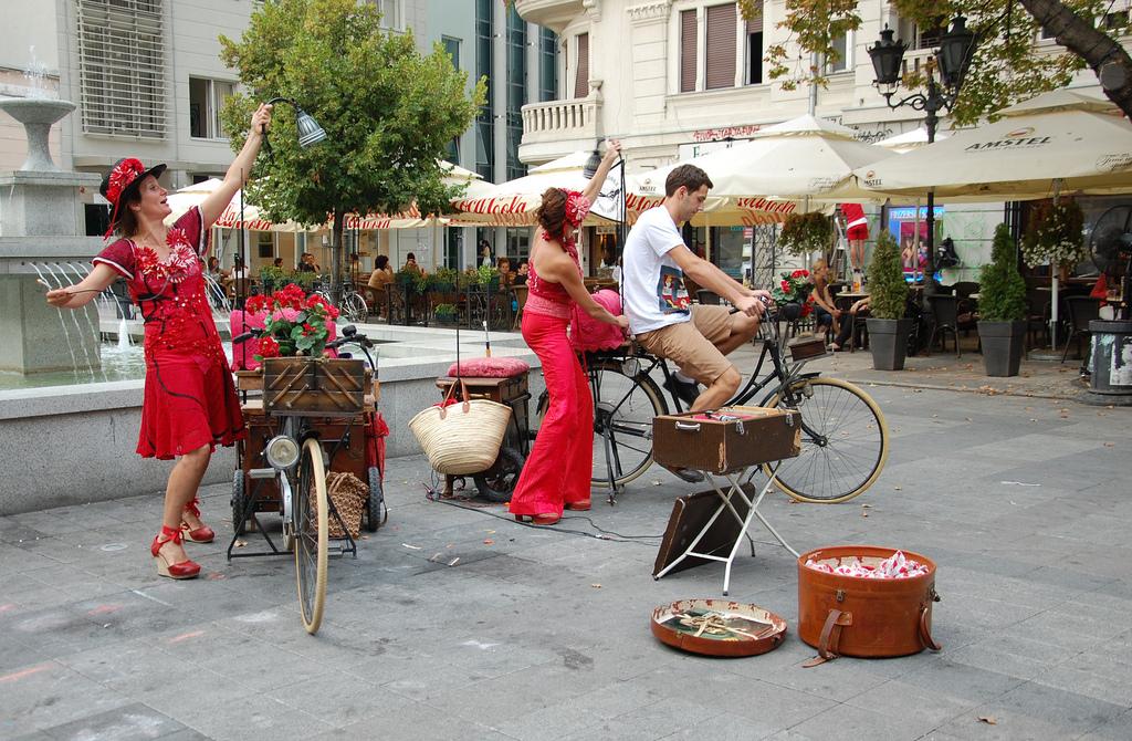 Festival ulični svirači, umetnici i umetnost, muzika, manifestacije Novi Sad