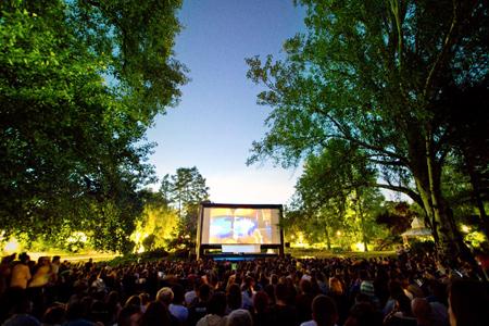 Cinema city otvorene projekcije filmova, bioskop Novi Sad