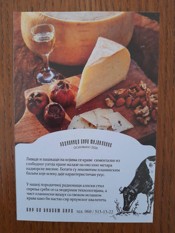 Podela i štampa flajera Gostiljski sir