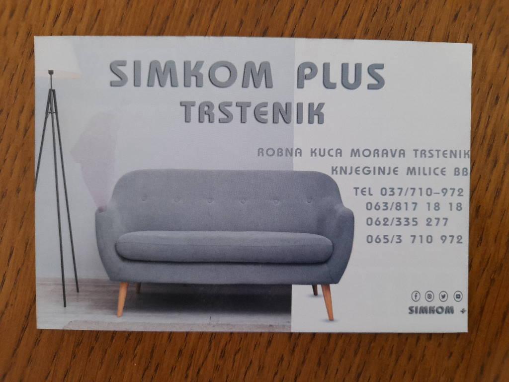 Podela i štampa flajera za SIMKOM PLUS TRSTENIK, ROBNA KUĆA MORAVA!!!