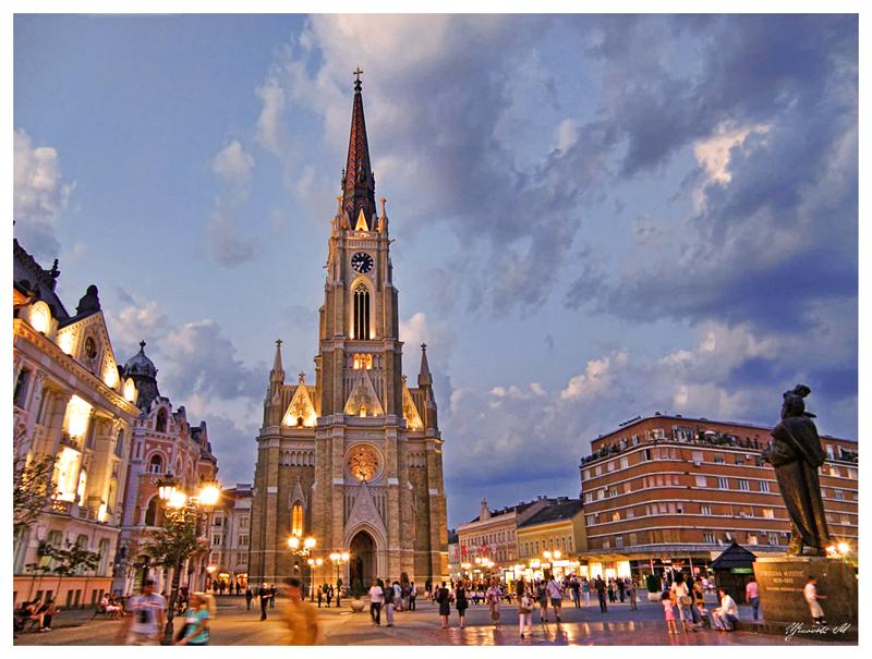 Trg slobode Novi Sad turizam