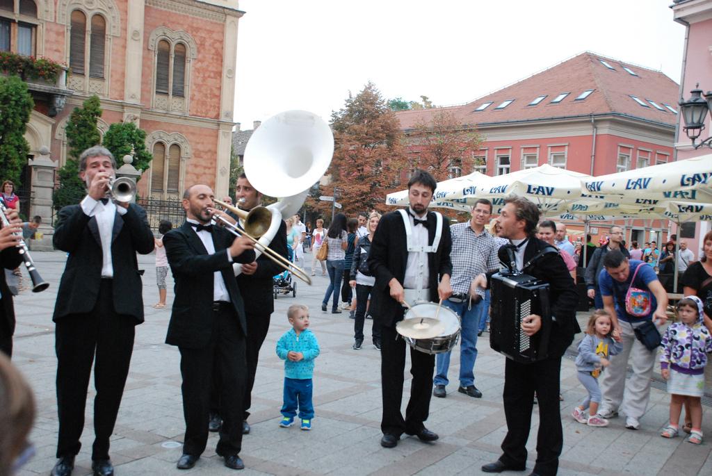 Počinje festival uličnih svirača u Novom Sadu