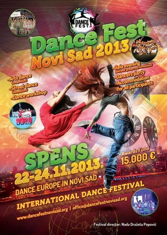 Dance Fest Novi Sad, festival plesa