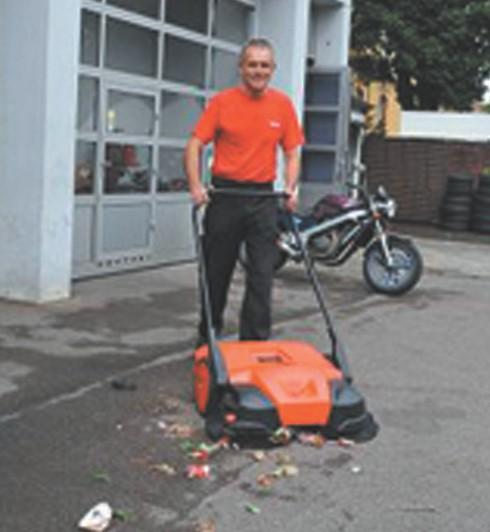 Haaga - ručne mašine za čišćenje - serija 400