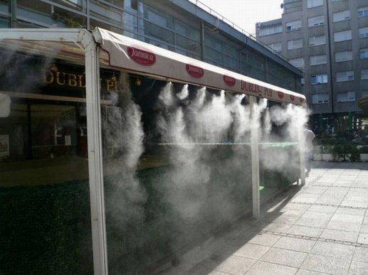 Hladjenje terasa