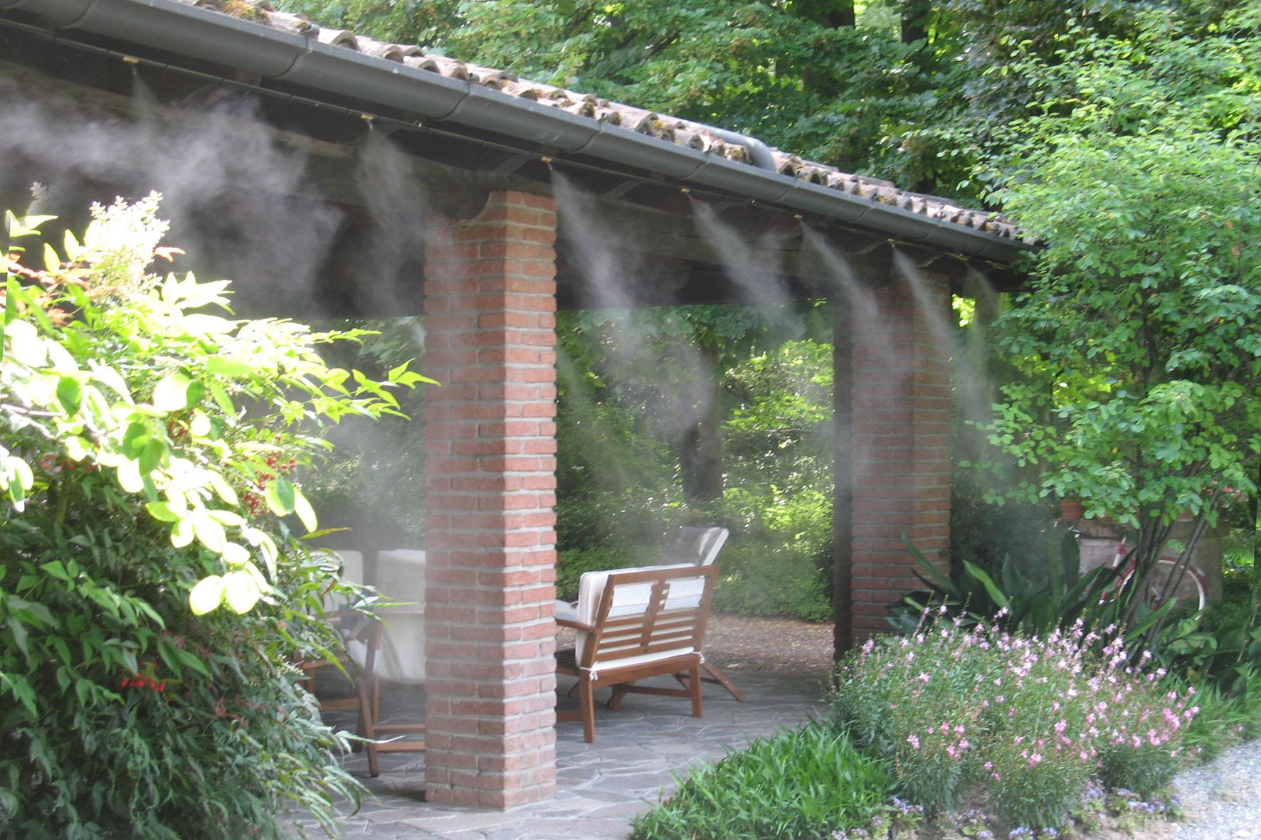 hlađenje terasa restorana i kafića