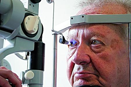 merenje očnog pritiska