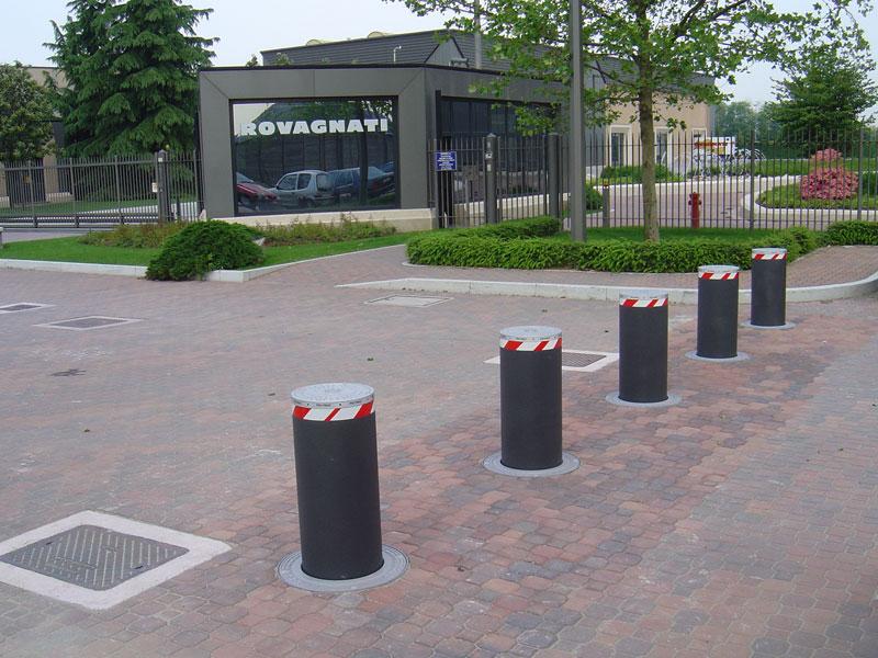 Primeri ugradnje automatskih potapajućih stubova