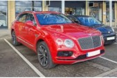 BENTLEY BENTAYGA V8 FIRST DRIVE