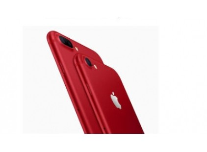 Apple touts limited edition red iPhones, cheap iPad