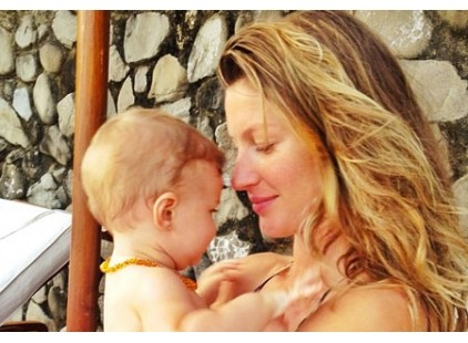 Gisele Bundchen Says She Makes Her Kids Eat a Mostly Plant-B
