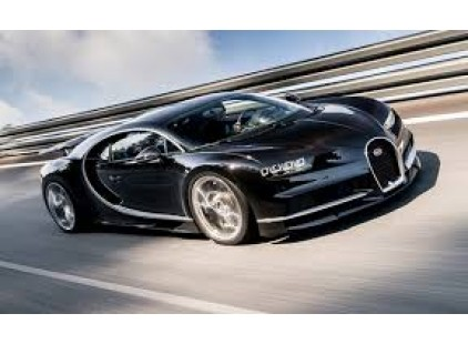 Bugatti Chiron does 0 to 248.5 to 0 in less than a minute